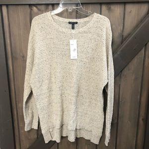 Eileen Fisher Crew Neck Box Top Sweater